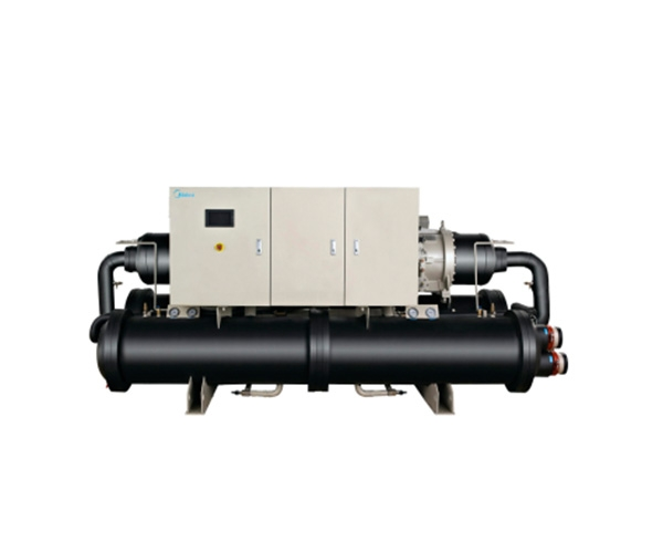 美的满液式水(地)源热泵螺杆机R134a